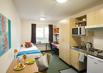 Student accommodation at McMillan Student Village, London