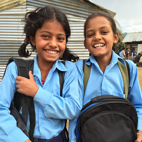 Building Futures: Schoolgirls in Nepal