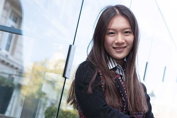 Bellerbys London Star Student Yue Kan
